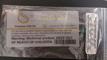 POP Natural Premium CO2 Oil,SUPER CBD,Halequin  (CBD ONLY